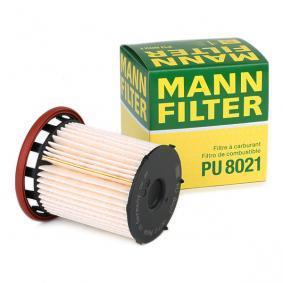 PU 8021 Kraftstofffilter MANN-FILTER - Markenprodukte billig