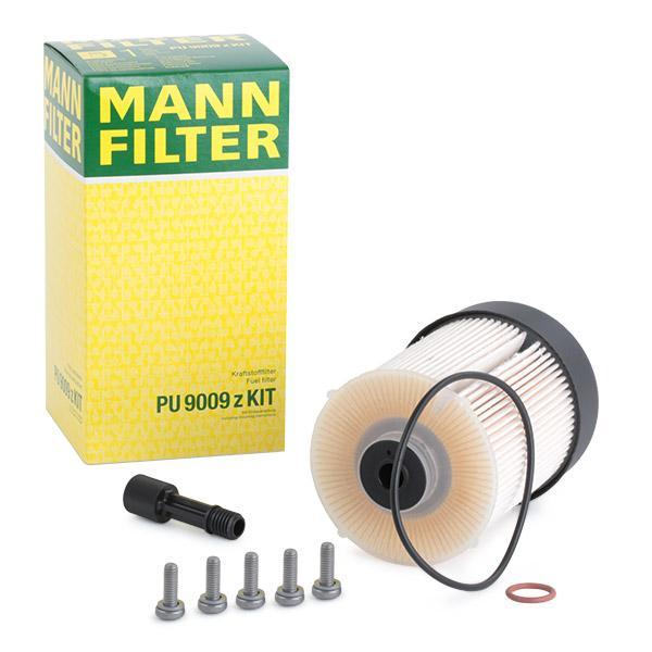 Achetez Filtre à carburant MANN-FILTER PU 9009 z KIT (Hauteur: 142mm) à un rapport qualité-prix exceptionnel