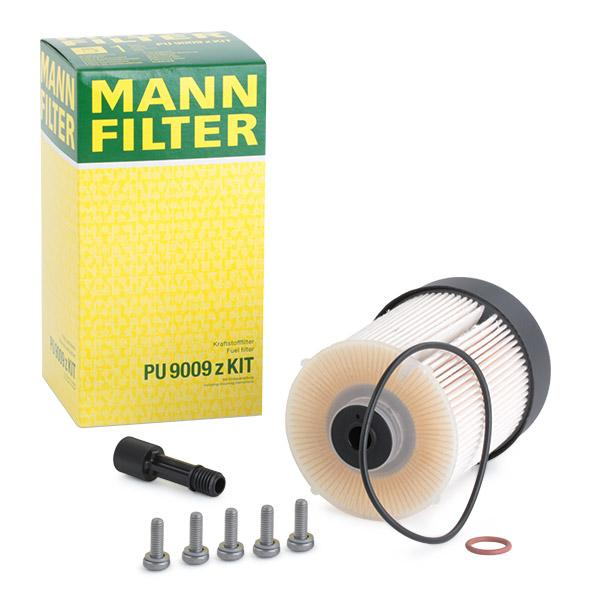 Filtr paliwa PU 9009 z KIT MANN-FILTER — tylko nowe części zamienne