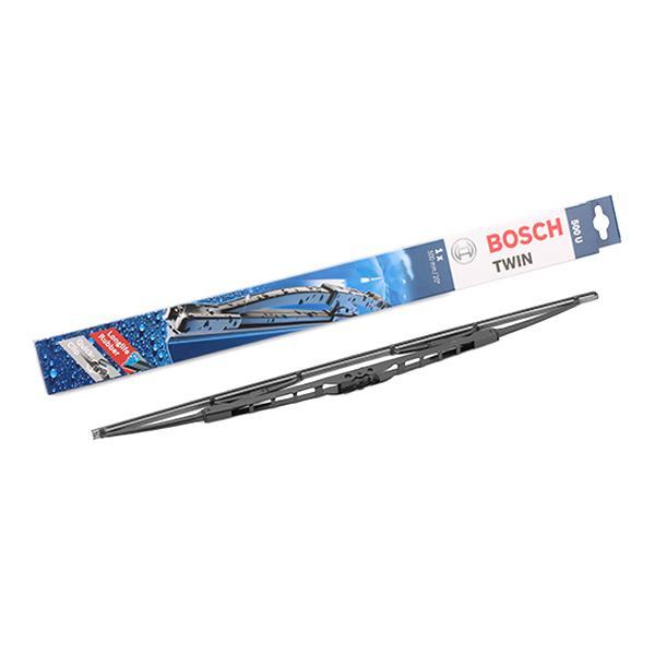 Achat de 500U BOSCH Twin Standard, 500mm Balai d'essuie-glace 3 397 004 583 pas chères