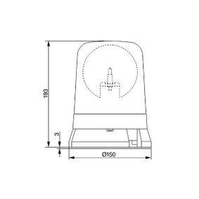 BOSCH Proiettore rotante 7782324011: compri online