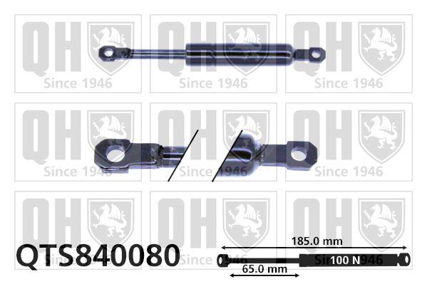 Gasfeder, Klapptisch QTS840080 rund um die Uhr online kaufen