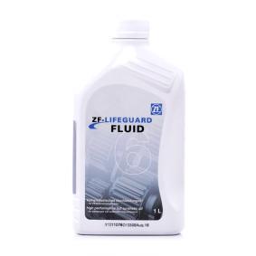 Pirkti ZFLifeGuardFluid6 ZF GETRIEBE LifeguardFluid 6 turinys: 1l Greičių dėžės alyva S671.090.255 nebrangu