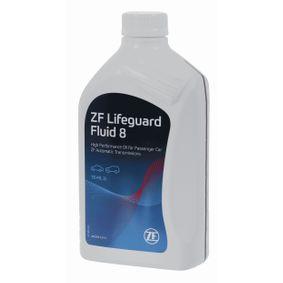 Pirkti ZFLifeGuardFluid8 ZF GETRIEBE LifeGuardFluid 8 turinys: 1l ZF LifeGuardFluid 8 Alyva, automatinė pavarų dėžė S671.090.312 nebrangu