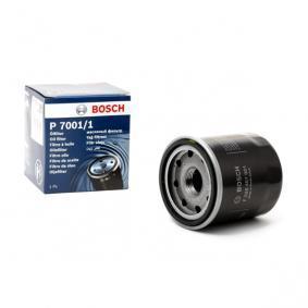 P70011 BOSCH Filtro aparafusado Ø: 65mm, Altura: 71,5mm Filtro de óleo F 026 407 001 comprar económica