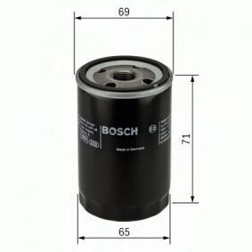 F 026 407 001 Filtro de óleo BOSCH - Produtos de marca baratos