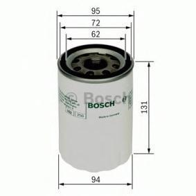 P7084 BOSCH Ø: 95mm, Höhe: 130mm Ölfilter F 026 407 084 günstig kaufen