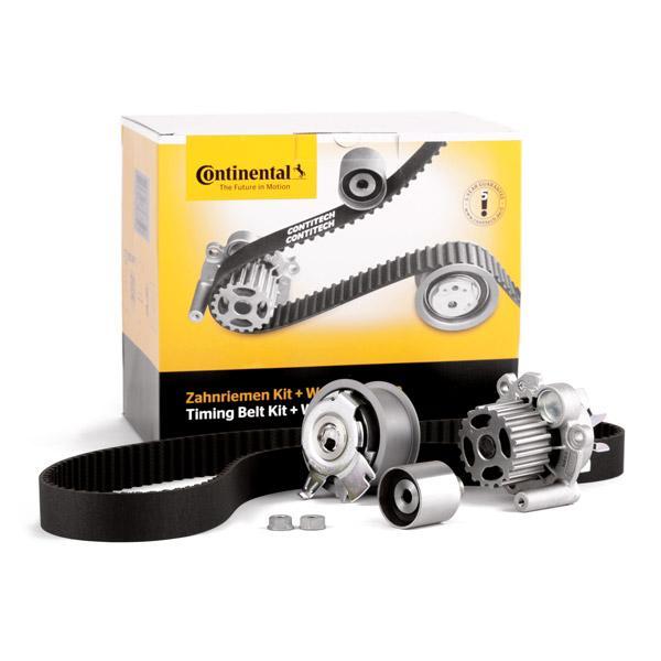 Pieces detachees VW Transporter T5 2013 : Kit de distribution + pompe à eau CONTITECH CT1028WP3 Largeur: 30mm — profitez des offres tout de suite!