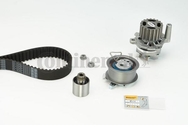 CT1028WP5 Timing belt kit and water pump CONTITECH - Cheap brand products