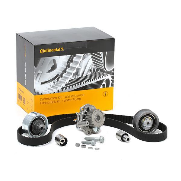 Accesorios y recambios SEAT TOLEDO 2012: Bomba de agua + kit correa distribución CONTITECH CT1044WP1 a un precio bajo, ¡comprar ahora!
