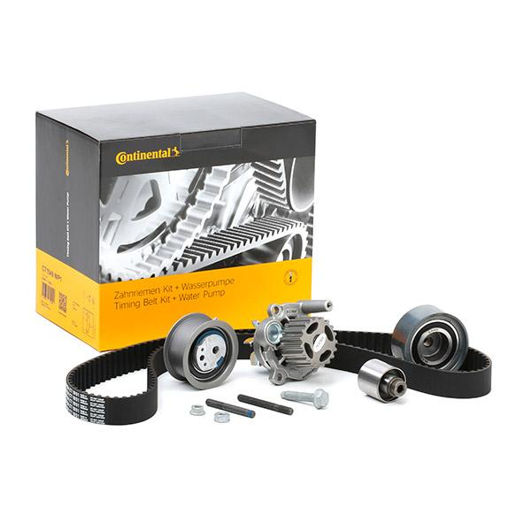 Volkswagen KOMBI 2016 Belts, chains, rollers CONTITECH CT1051WP1: Teeth Quant.: 141