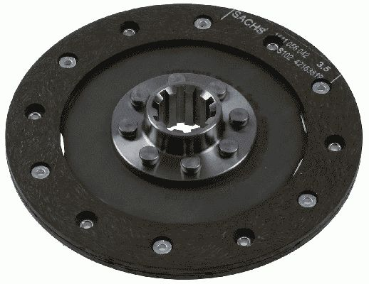 Clutch disc 1860 023 012 SACHS — only new parts