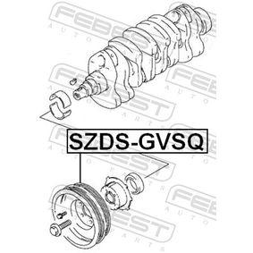FEBEST SZDS-GVSQ Engine Crankshaft Pulley