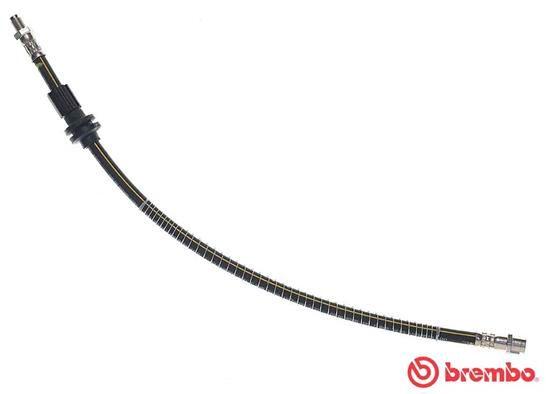 MERCEDES-BENZ GLK 2011 Bremsschlauch - Original BREMBO T 50 066 Länge: 515mm, Gewindemaß 1: F10X1, Gewindemaß 2: M10x1