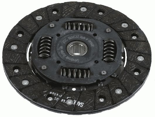 Peugeot 206 2020 Clutch plate SACHS 1862 402 345: