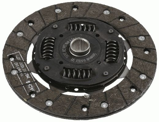 Clutch disc 1862 518 031 SACHS — only new parts