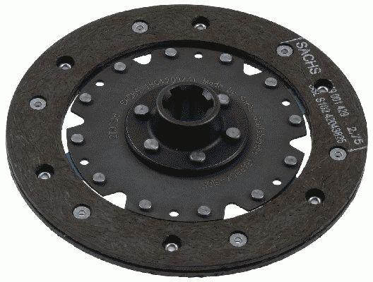 Sankabos diskas 1864 209 231 SACHS — tik naujos dalys