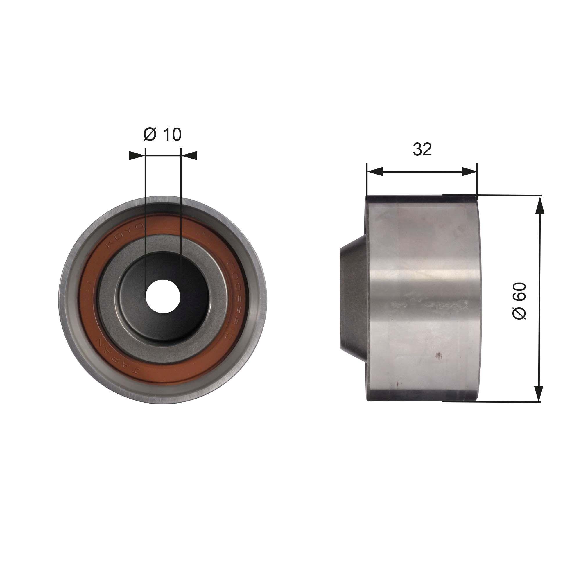 778621110 GATES BOOST™ CVT Belt Umlenkrolle Zahnriemen T42017 günstig kaufen