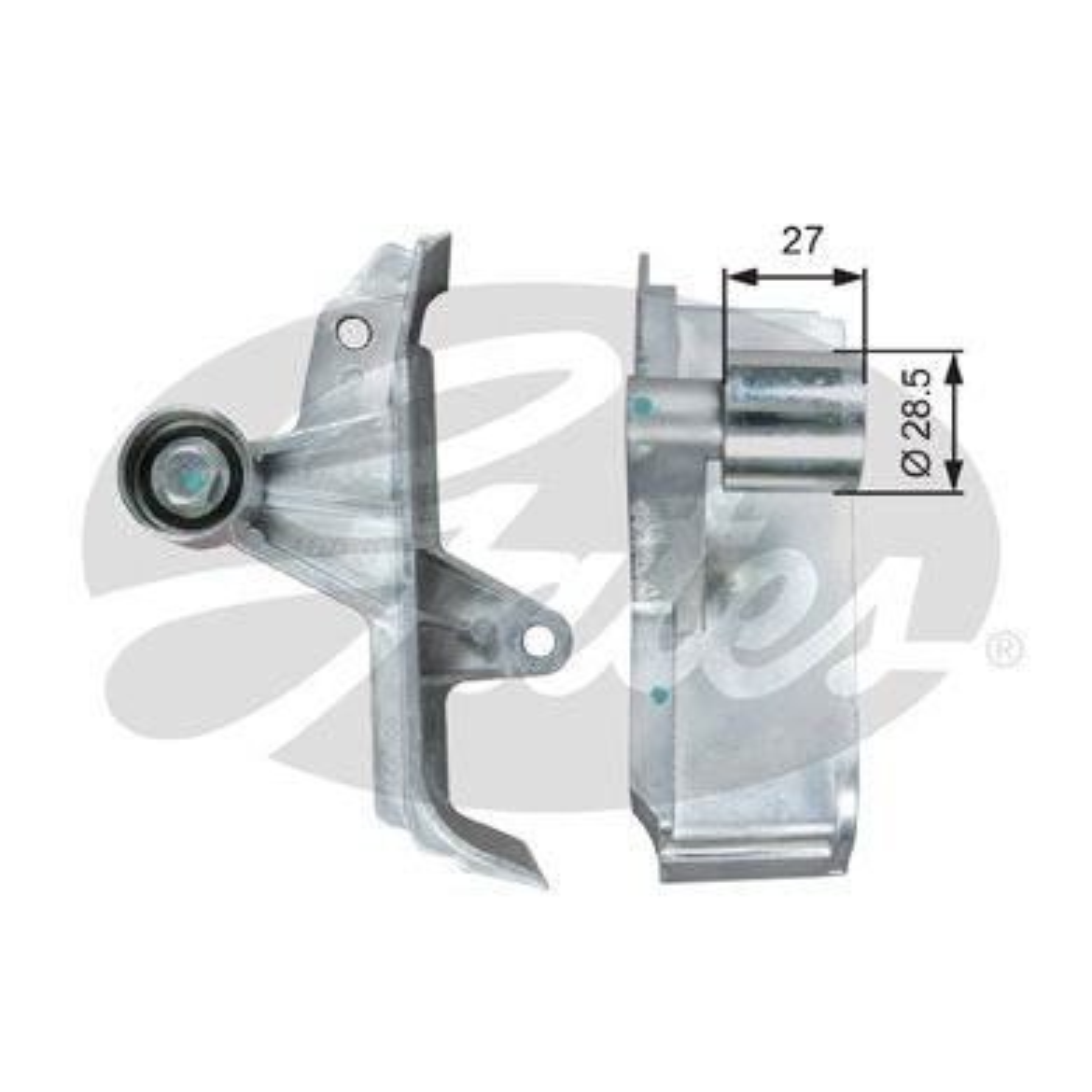 778621647 GATES Umlenkrolle Zahnriemen T42313 günstig kaufen