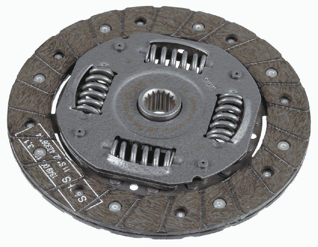 Ford FIESTA 2020 Clutch plate SACHS 1878 001 816: