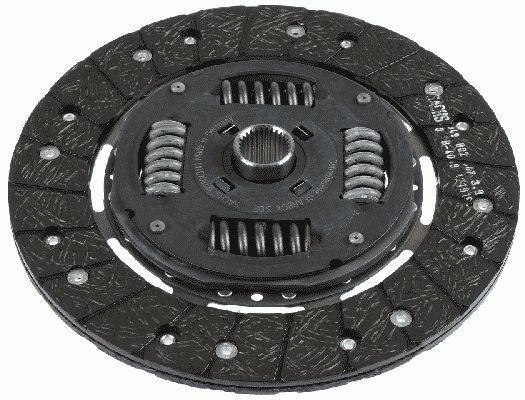 Volkswagen GOLF 2015 Clutch disc SACHS 1878 043 141: