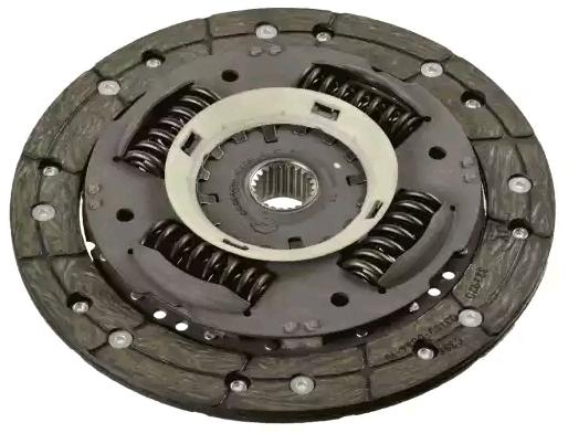 Ford FOCUS 2015 Clutch disc SACHS 1878 988 201: