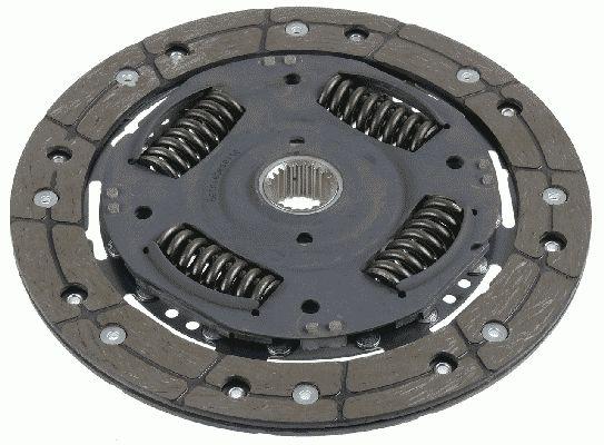 Ford MONDEO 2011 Clutch disc SACHS 1878 992 001: