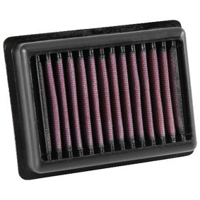 Moto K&N Filters Long-life Filter Length: 137mm, Width: 106mm, Height: 38mm Air Filter TB-9016 cheap