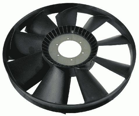 Ventiliatoriaus ratas, variklio aušinimas 2166 010 000 SACHS — tik naujos dalys