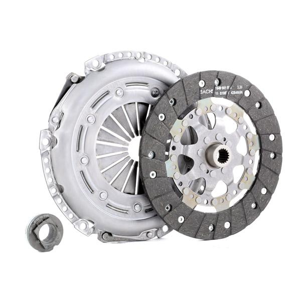 Clutch kit 3000 951 013 SACHS — only new parts