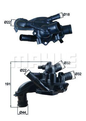 BEHR THERMOT-TRONIK: Original Motorkühlung TM 46 105 ()