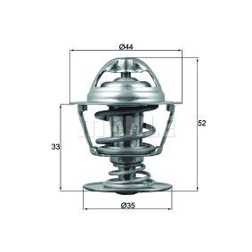 72402042 BEHR THERMOT-TRONIK Öffnungstemperatur: 88°C, mit Dichtung Thermostat, Kühlmittel TX 173 88D günstig kaufen