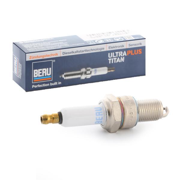 BERU UPT8 (Écart. électr.: 0,9mm, Filetage: M14x1,25) : Pièces d'allumage Twingo c06 2006
