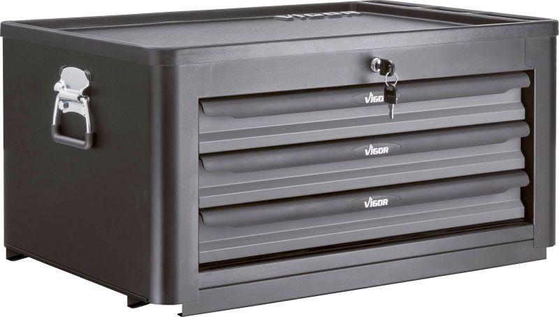 Køb V1902 VIGOR Breite: 723mm, Höhe: 375mm, Complete wheel bearing set removal/installation Værktøjskuffert V1902 billige
