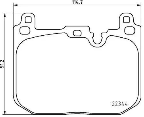 Bremsbelagsatz VAICO V20-3131