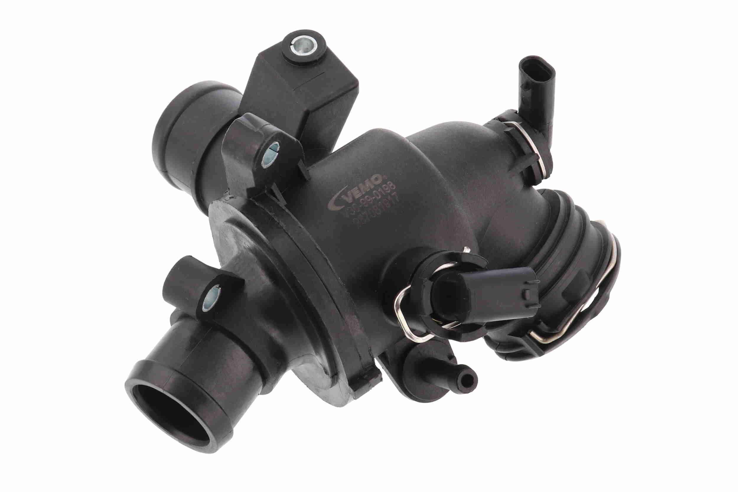 V30-99-0198 VEMO Öffnungstemperatur: 95°C, mit Dichtung, mit Sensor, mit Thermostat, Kunststoffgehäuse, Original VEMO Qualität Thermostat, Kühlmittel V30-99-0198 günstig kaufen