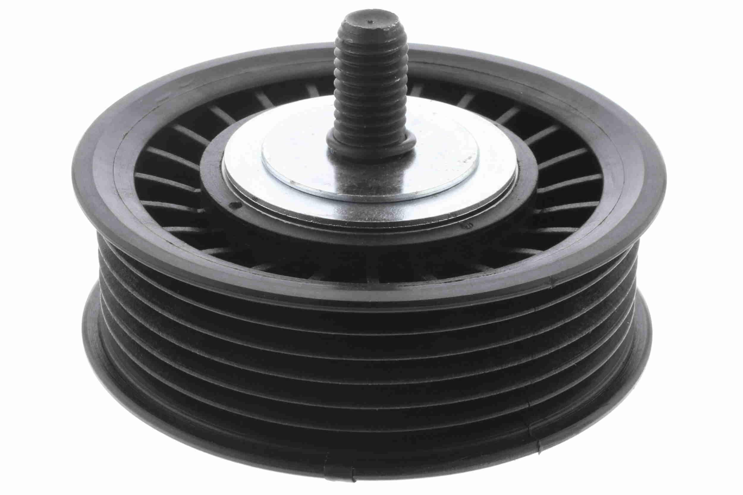 VAICO V46-1721 (Ø: 76mm) : Poulie renvoi / transmission, courroie trapézoïdale à nervures Renaul Kangoo 1 2016