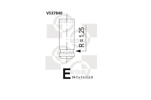 V537840 BGA Einlassventil V537840 günstig kaufen