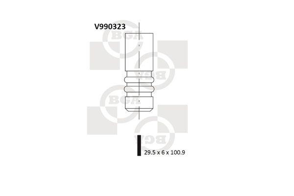 OE Original Einlaßventil V990323 BGA