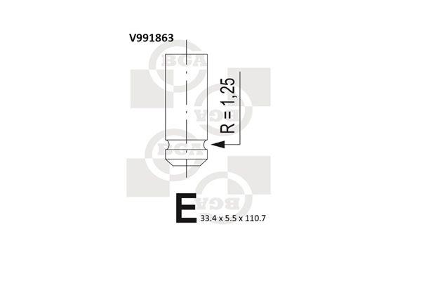 Всмукателен клапан V991863 купете онлайн денонощно