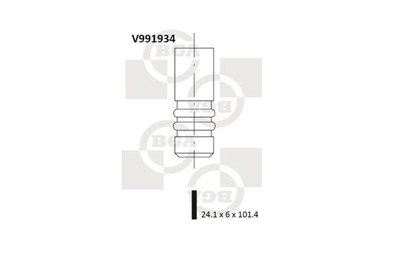 BGA: Original Auslaßventil V991934 ()