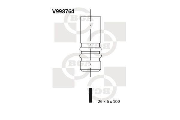 BGA: Original Einlaßventil V998764 ()