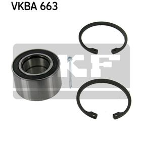 VKBA 663 SKF Ø: 64mm, Diâmetro interior: 34mm Jogo de rolamentos de roda VKBA 663 comprar económica