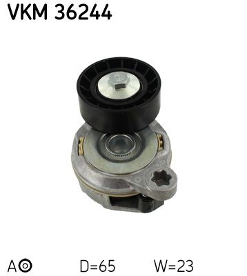 VKM 36244 Spannrolle, Keilrippenriemen SKF in Original Qualität