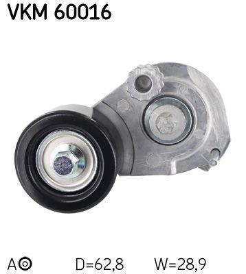 VKM 60016 SKF Ø: 62,8mm Ø: 62,8mm, Breite: 28,9mm Spannrolle, Keilrippenriemen VKM 60016 günstig kaufen