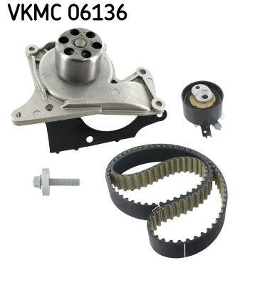 Pieces detachees RENAULT KADJAR 2021 : Kit de distribution + pompe à eau SKF VKMC 06136 - Achetez tout de suite!
