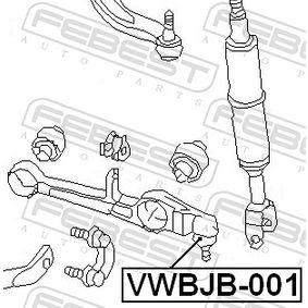 VWBJB001 Reparatursatz, Trag- / Führungsgelenk FEBEST VWBJB-001 - Große Auswahl - stark reduziert