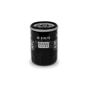 W 610/10 MANN-FILTER Innendurchmesser 2: 54,5mm, Ø: 65mm, Außendurchmesser 2: 62mm, Höhe: 87,3mm Ölfilter W 610/10 günstig kaufen