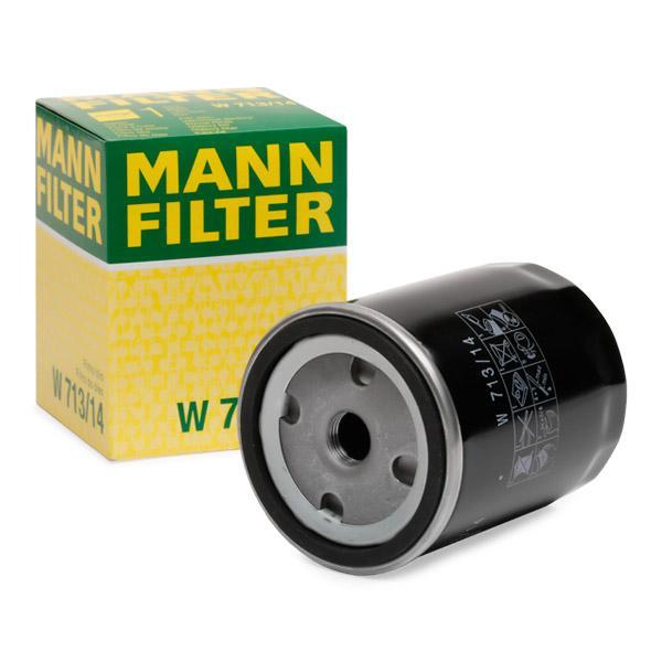 Oliefilter MANN-FILTER W 713/14 Anmeldelser