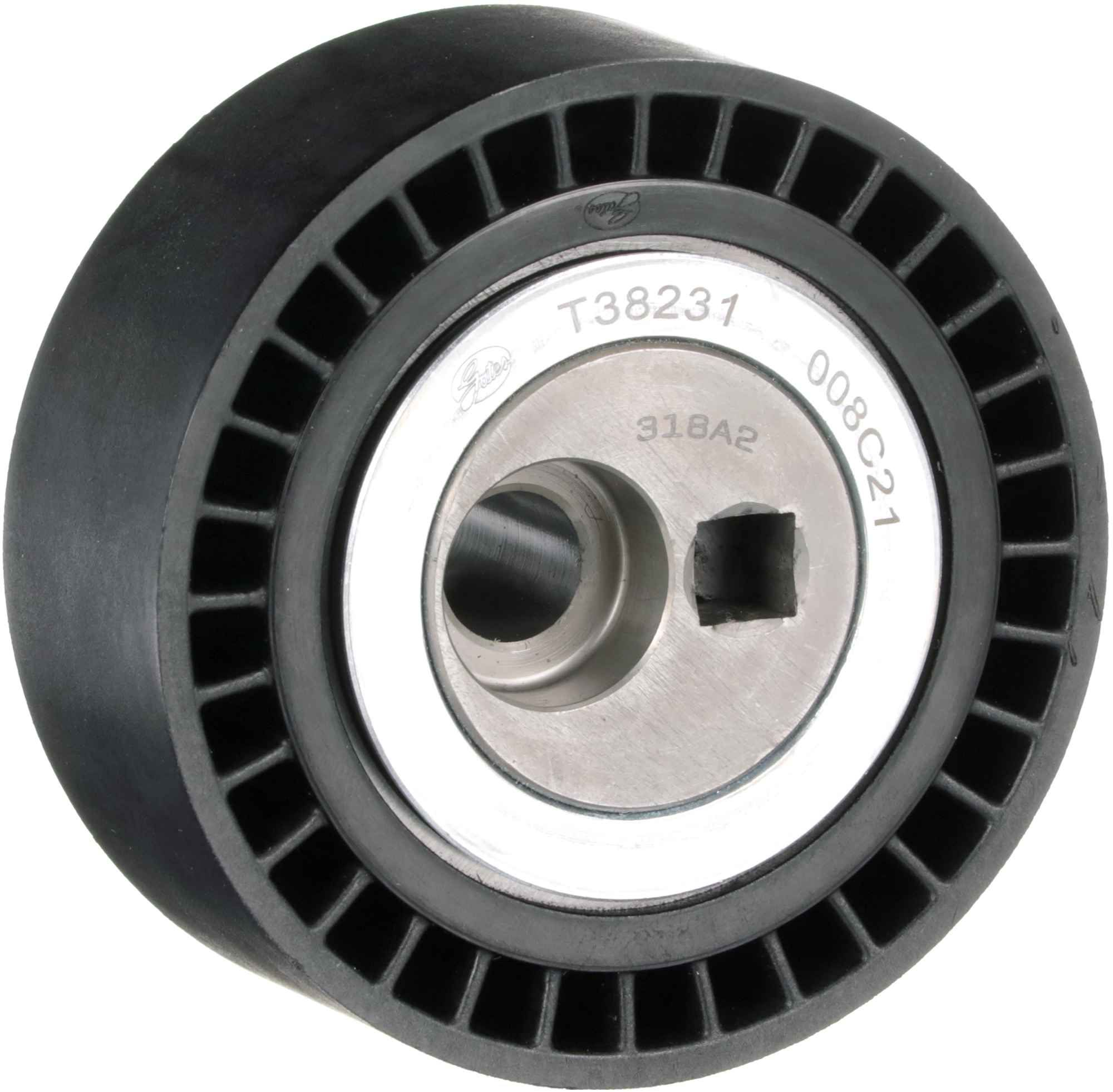 Acheter Poulie-tendeur courroie trapézoïdale à nervures Largeur: 27mm GATES T38231 à tout moment